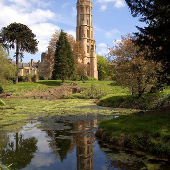 Hadlow Tower - Peter Jeffree Architectural Photography - Reflections