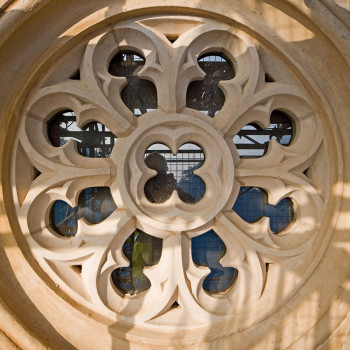 Hadlow Tower - Peter Jeffree Architectural Photography - Rose Window