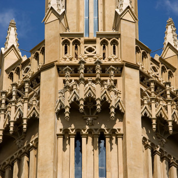 Hadlow Tower - Peter Jeffree Architectural Photography - Top Detail