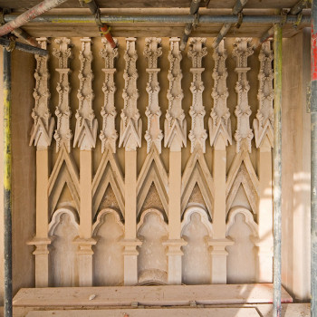 Hadlow Tower - Peter Jeffree Architectural Photography - Screen Detail