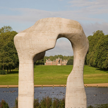 Peter Jeffree - Architectural Photography - Henry Moore Arch Portrait