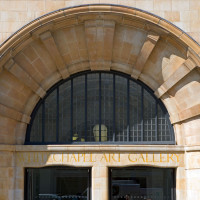 Peter Jeffree - Architectural Photographer - Whitechapel Art Gallery - main entrance