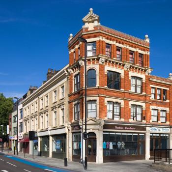 Peter Jeffree - Architectural Photographer - Whitechapel Road - phase 1 corner building