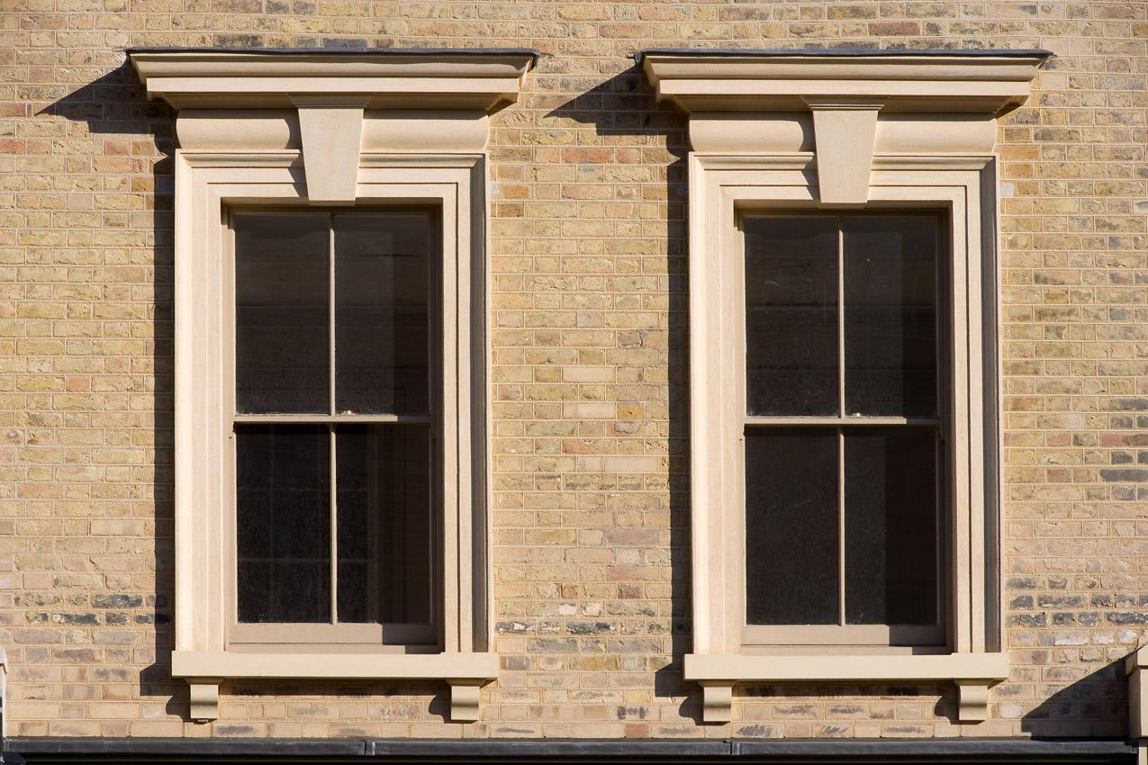 Whitechapel road peter jeffree for Architecture windows