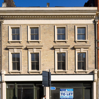 Peter Jeffree - Architectural Photographer - Whitechapel Road - phase 1 facade