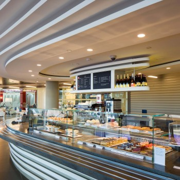Peter Jeffree - Architectural Photographer - John Lewis Milton Keynes - cafe