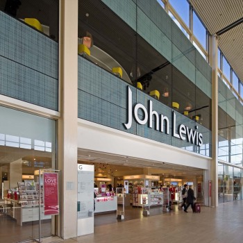 Peter Jeffree - Architectural Photographer - John Lewis Milton Keynes - entrance left