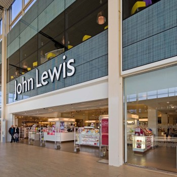 Peter Jeffree - Architectural Photographer - John Lewis Milton Keynes - entrance right