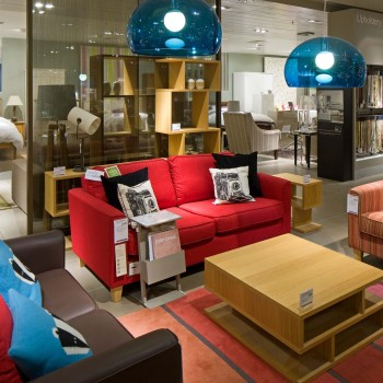 Peter Jeffree - Architectural Photographer - John Lewis Milton Keynes - furniture