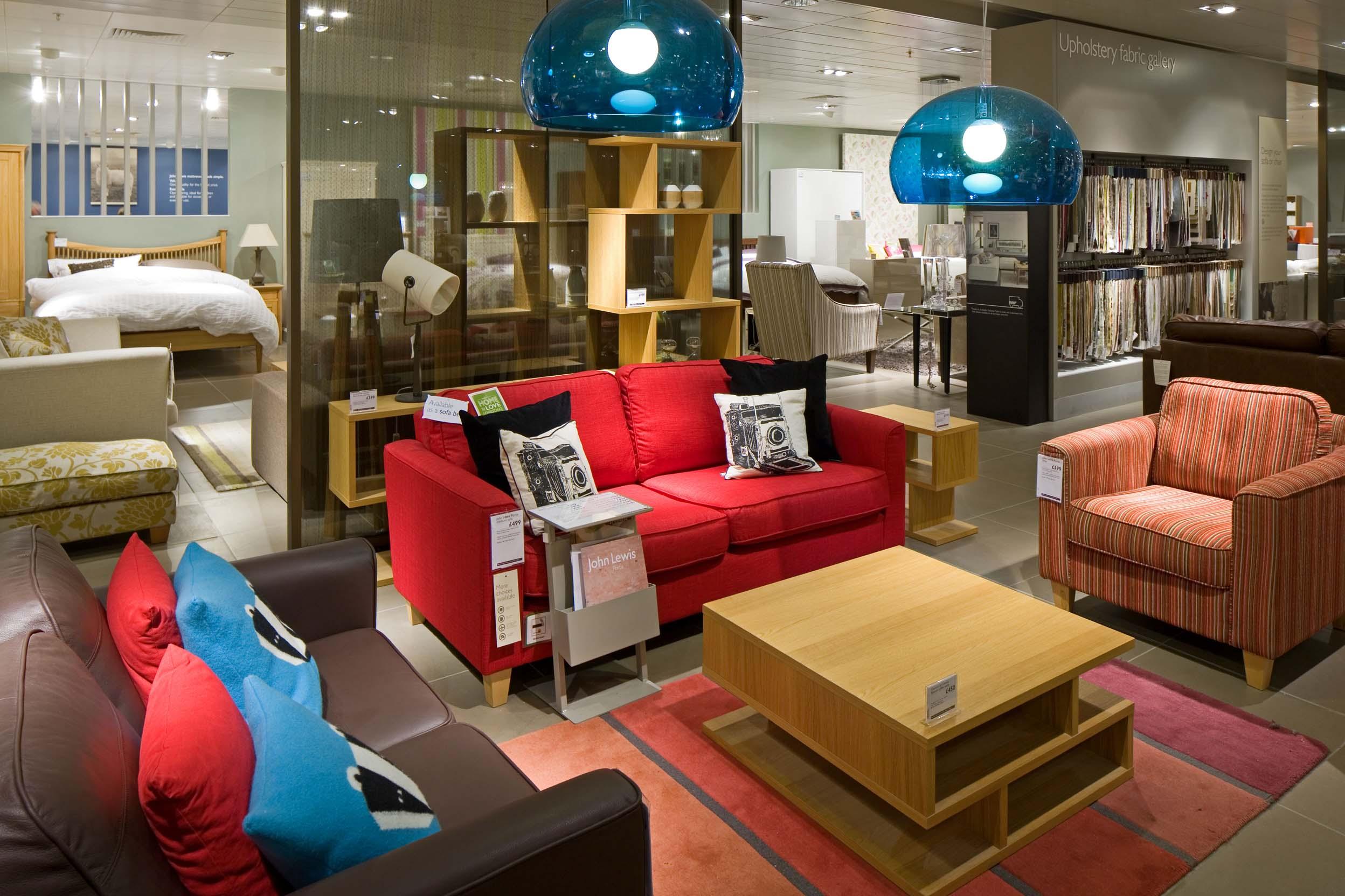 Peter Jeffree   Architectural Photographer   John Lewis Milton Keynes    Furniture