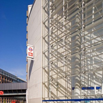 Peter Jeffree - Architectural Photographer - Blackfriars Station - detail