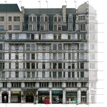 Peter Jeffree - Architectural Photography - photogrammetry survey - Savoy Court Hotel, London