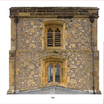 Peter Jeffree - Architectural Photography - photogrammetry survey - StNicholas Church Arundel
