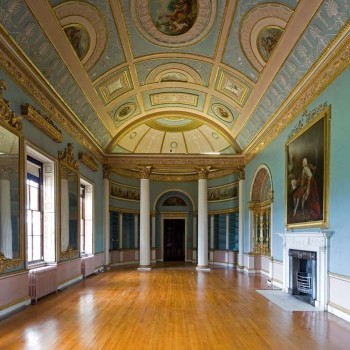 Peter Jeffree - Architectural Photographer - Kenwood House - Adam Library interior 1