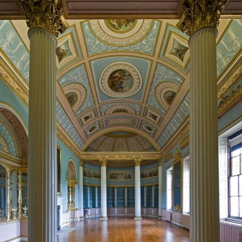 Peter Jeffree - Architectural Photographer - Kenwood House - Adam Library interior 2